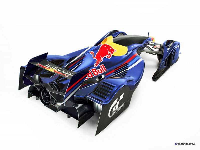 """Car Name: Red Bull X2010 S.Vettel   Manufacturer: Gran Turismo   Year: 2010   """"Generated in Game""""  All manufacturers, cars, names, brands and associated imagery featured are trademarks and/or copyrighted materials of their respective owners. All rights reserved. // Polyphony Digital Inc. / Sony Computer Entertainment Inc. // P-20120217-82666 // Usage for editorial use only // Please go to www.redbullcontentpool.com for further information. //"""