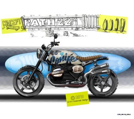 2015 BMW Concept Path 22 Scrambler 38