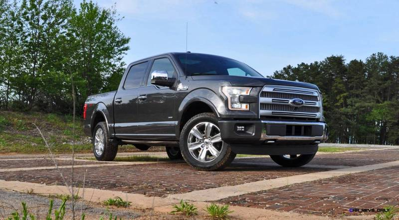2015 Ford F-150 Platinum 4x4 Supercrew Review 11