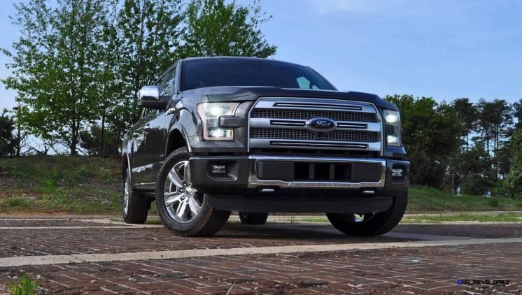 2015 Ford F-150 Platinum 4x4 Supercrew Review 19