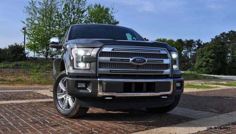 2015 Ford F-150 Platinum 4x4 Supercrew Review 33
