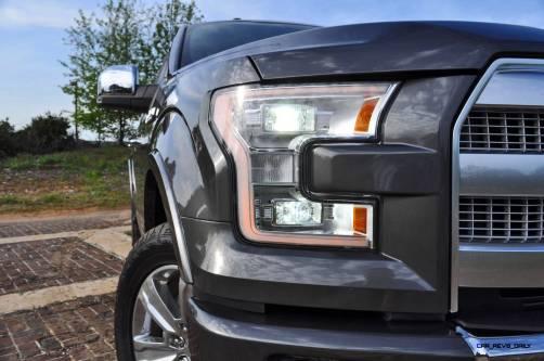 2015 Ford F-150 Platinum 4x4 Supercrew Review 39
