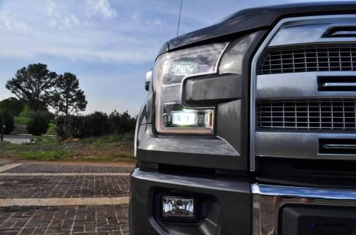 2015 Ford F-150 Platinum 4x4 Supercrew Review 48