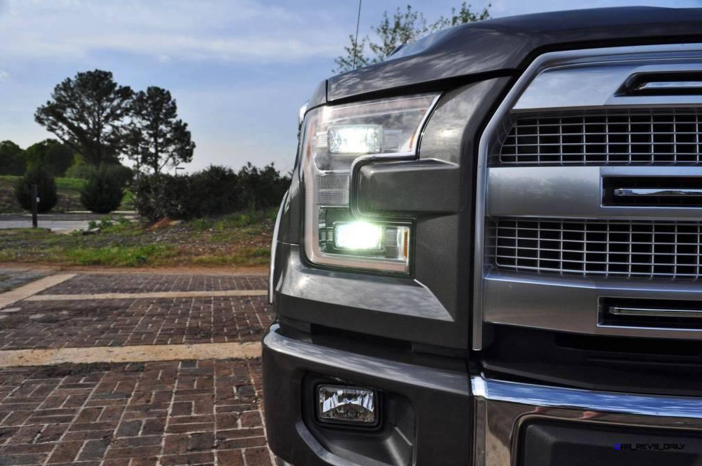2015 Ford F-150 Platinum 4x4 Supercrew Review 51