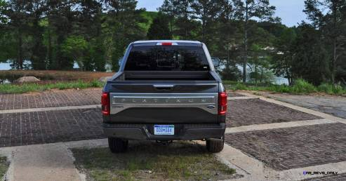 2015 Ford F-150 Platinum 4x4 Supercrew Review 86