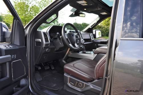 2015 Ford F-150 Platinum 4x4 Supercrew Review 93