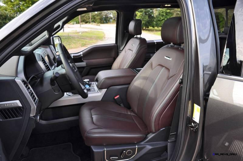 2015 Ford F-150 Platinum 4x4 Supercrew Review 99