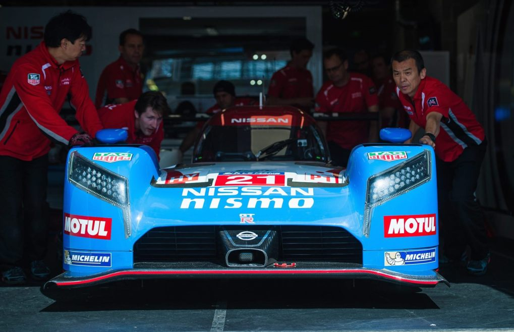 Nissan GT-R LM NISMO Team Prepares for Le Mans 24 Hours