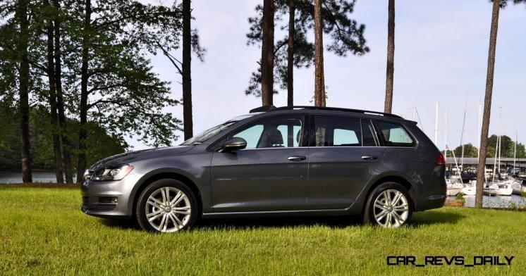 2015 VW Golf Sportwagen TDI SE 57