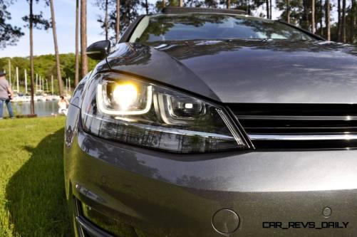 2015 VW Golf Sportwagen TDI SE 86