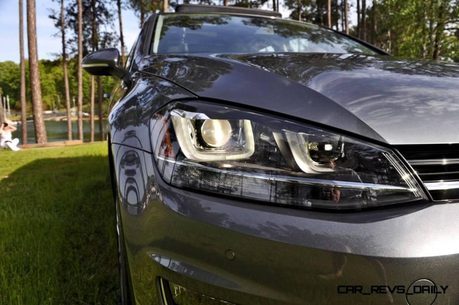 2015 VW Golf Sportwagen TDI SE 89