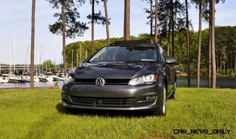 2015 VW Golf Sportwagen TDI SE 97