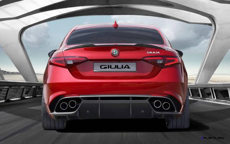 2016 Alfa Romeo GUILIA Quadrifoglio 5