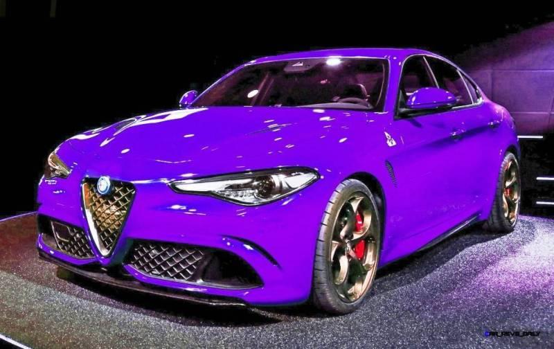 2016 Alfa Romeo Giulia Color Test 19