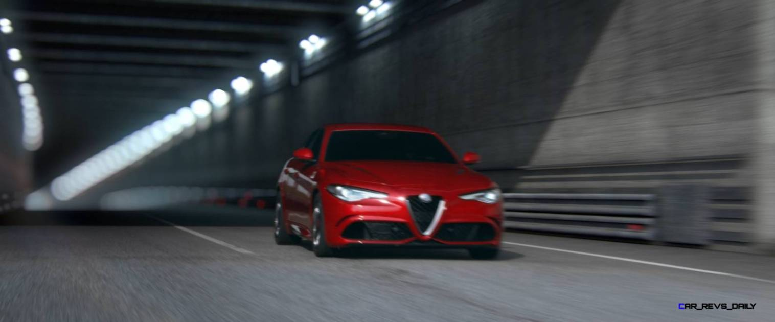 2016 Alfa Romeo Guilia Dynamic Screencaps 8