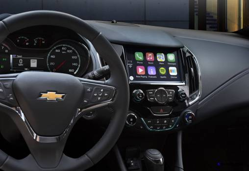2016 Chevrolet Cruze steering wheel