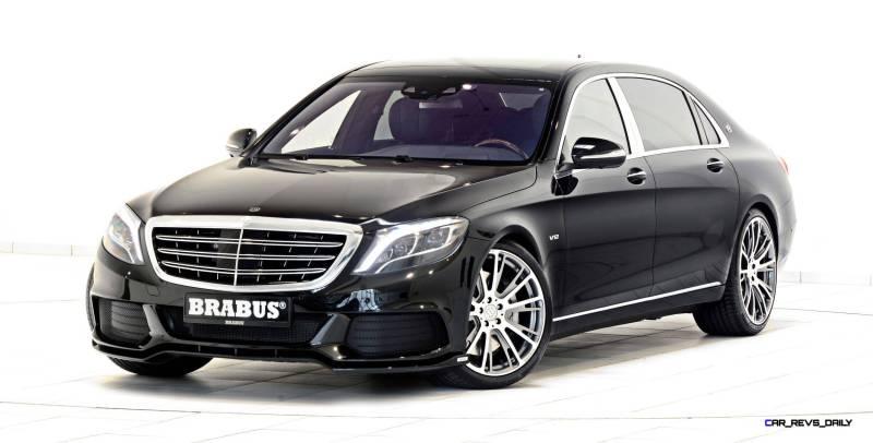 2016 Mercedes-Maybach by BRABUS 8