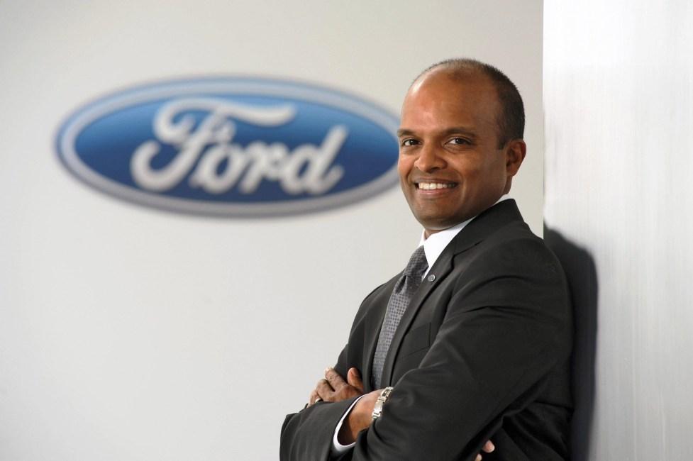Raj Nair, Ford Group Vice President Product Development