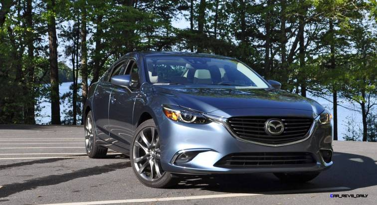 HD Drive Review Video - 2016 Mazda6 Grand Touring 10