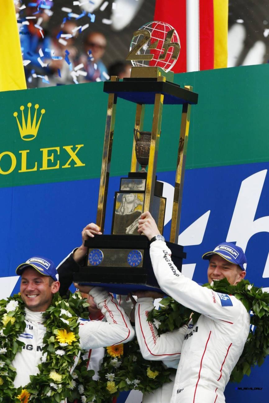 Porsche Team: Nick Tandy, Nico Huelkenberg (l-r)