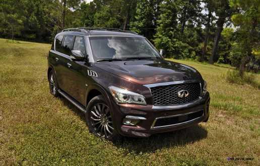 2015 INFINITI QX80 Limited AWD 25