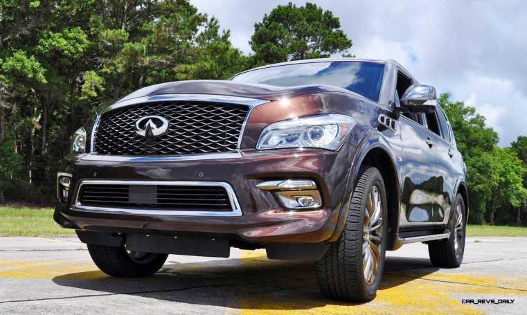 2015 INFINITI QX80 Limited AWD 44