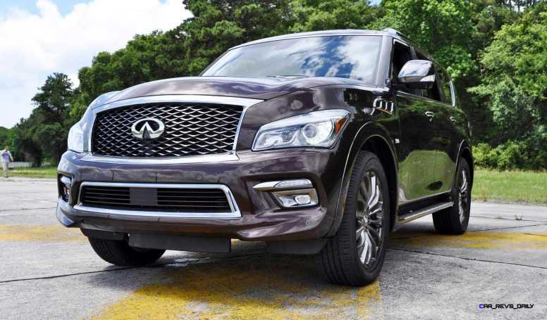 2015 INFINITI QX80 Limited AWD 53