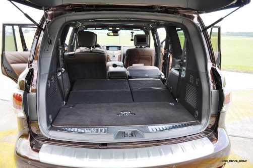 2015 INFINITI QX80 Limited AWD 62