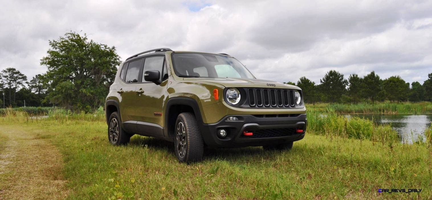 2015 Jeep RENEGADE Trailhawk Review 1