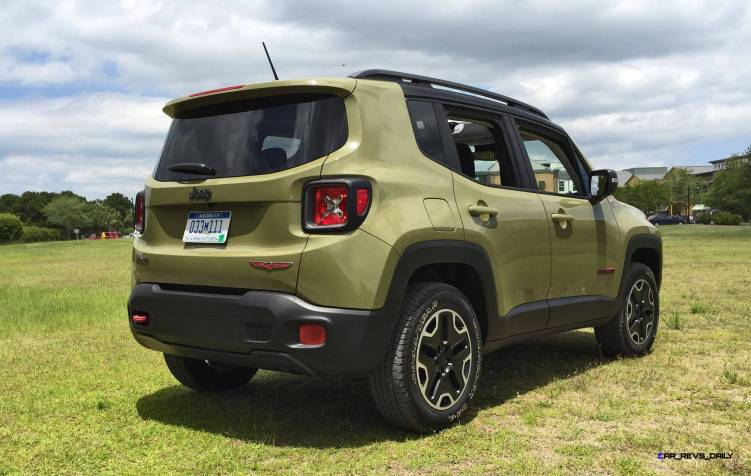 2015 Jeep RENEGADE Trailhawk Review 106