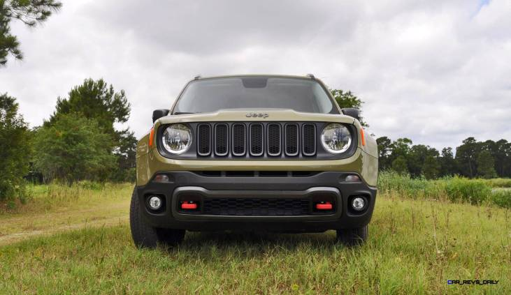 2015 Jeep RENEGADE Trailhawk Review 3