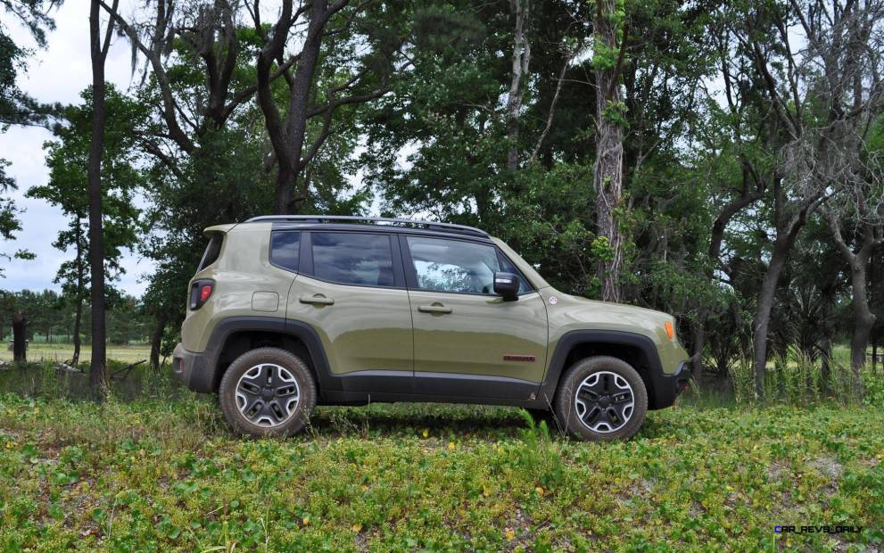 2015 Jeep RENEGADE Trailhawk Review 40