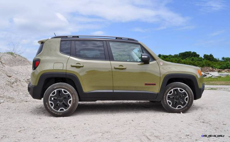 2015 Jeep RENEGADE Trailhawk Review 88