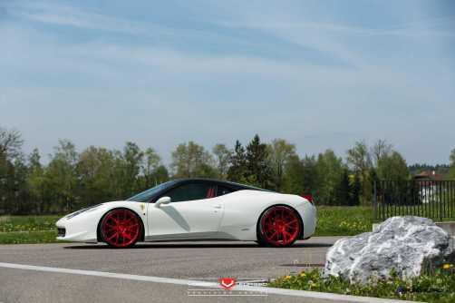 Ferrari 458 Italia - Vossen Forged Precision Series VPS-306 -_18526729869_o