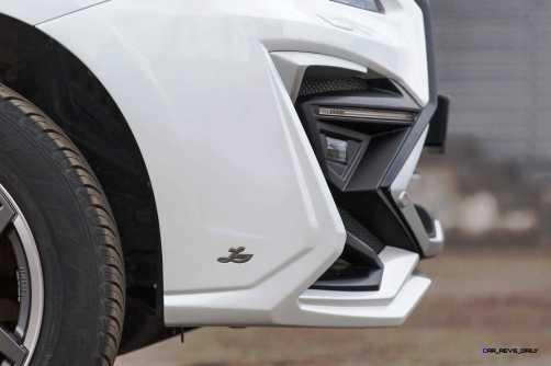 LARTE Design Lexus LX570 Alligator Bodykit White 31