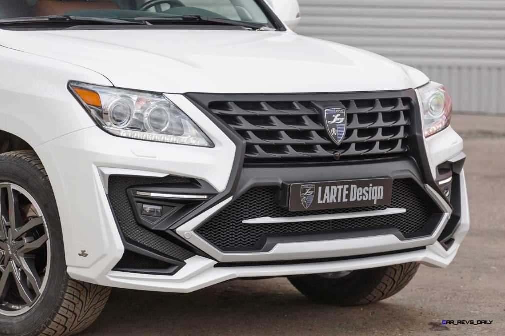 LARTE Design Lexus LX570 Alligator Bodykit White 48