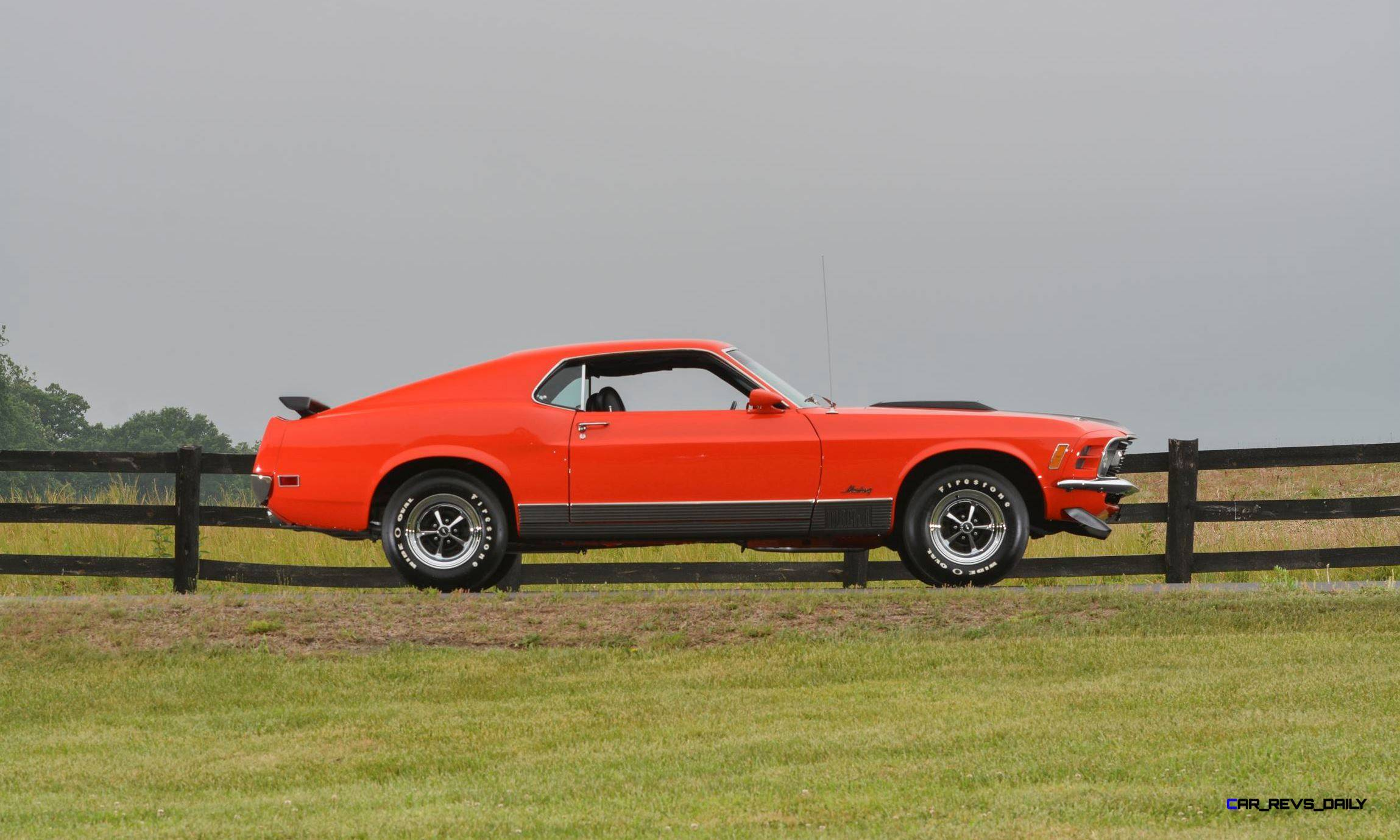 Mecum Harrisburg 2015 114_1970 Ford Mustang Mach 1 Fastback 12
