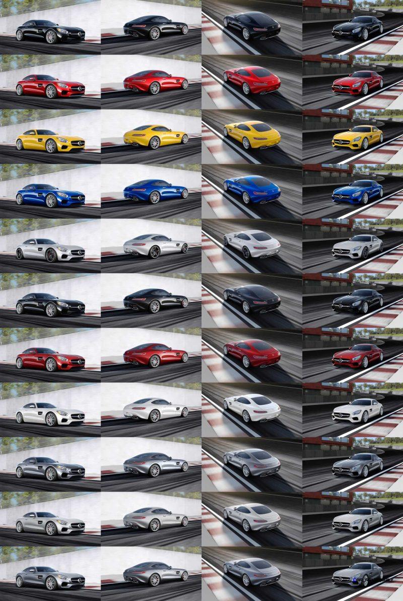 2015 AMG GT-S Colors 1-tile