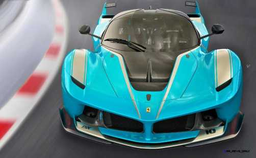 2015 Ferrari FXX K - Rendered COLORS Visualizer 1