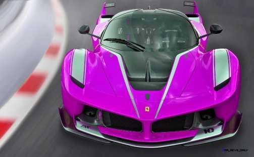 2015 Ferrari FXX K - Rendered COLORS Visualizer 11