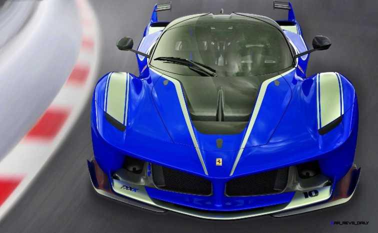 2015 Ferrari FXX K - Rendered COLORS Visualizer 16