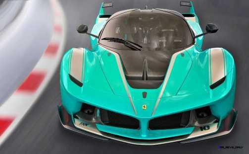 2015 Ferrari FXX K - Rendered COLORS Visualizer 2
