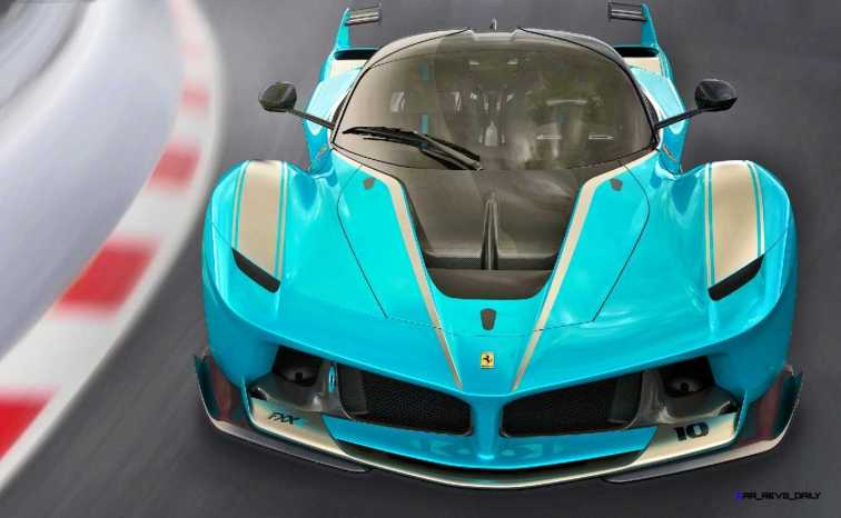 2015 Ferrari FXX K - Rendered COLORS Visualizer 21