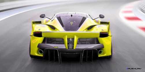 2015 Ferrari FXX K - Rendered COLORS Visualizer 23