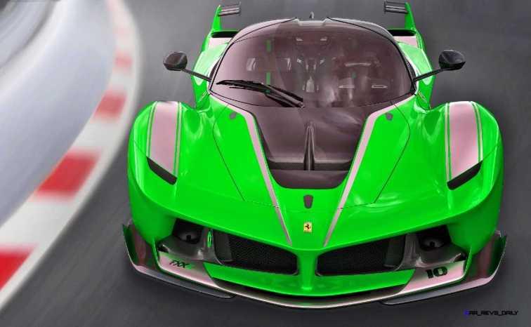 2015 Ferrari FXX K - Rendered COLORS Visualizer 4