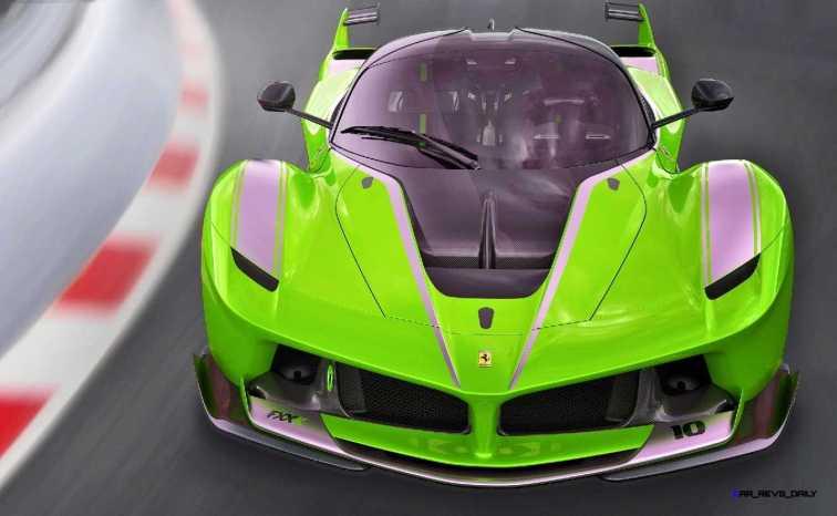 2015 Ferrari FXX K - Rendered COLORS Visualizer 5