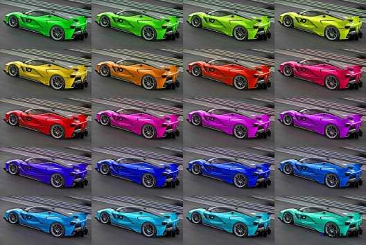 2015 Ferrari FXX K - Rendered COLORS Visualizer 51-tile