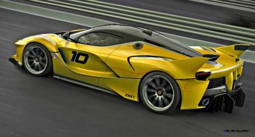 2015 Ferrari FXX K - Rendered COLORS Visualizer 55