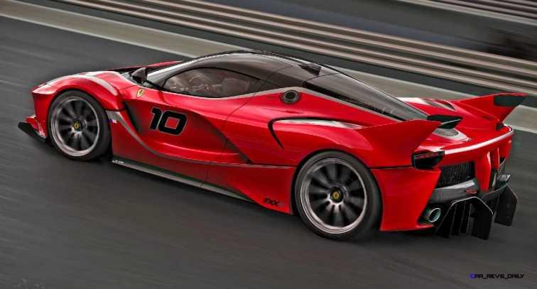 2015 Ferrari FXX K - Rendered COLORS Visualizer 59