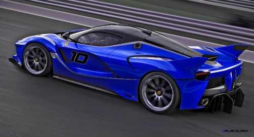 2015 Ferrari FXX K - Rendered COLORS Visualizer 64